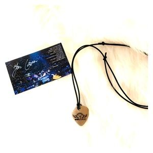 Volbeat drumhead pick necklace new ❤️